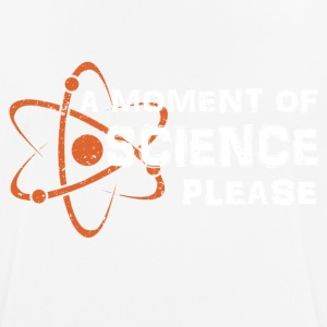 Une science moment - T-shirt respirant Homme