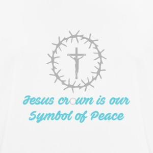 Sympol of Peace - Christian - Men's Breathable T-Shirt