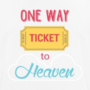 One Way Ticket to Heaven - Men's Breathable T-Shirt
