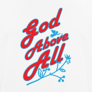 God Above All - Andningsaktiv T-shirt herr