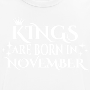Kings are born in November - Männer T-Shirt atmungsaktiv