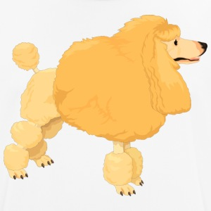 Yellow poodle - Men's Breathable T-Shirt