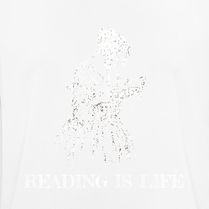 Reading is life - Men's Breathable T-Shirt