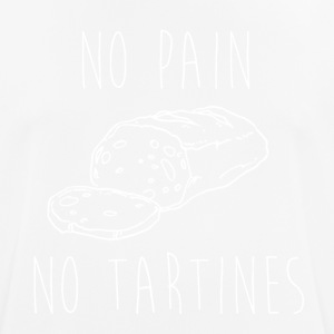 No Pain No Tartines - Men's Breathable T-Shirt