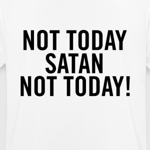 Not Today Satan Black - Camiseta hombre transpirable