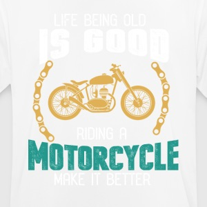 motorcyclist - Men's Breathable T-Shirt