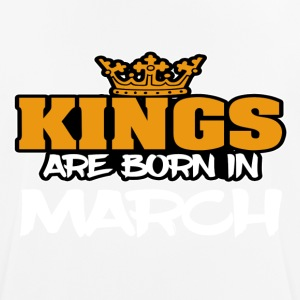 Kings Born In MARCH - Men's Breathable T-Shirt