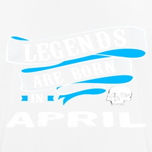 Legends Born In APRIL - Men's Breathable T-Shirt
