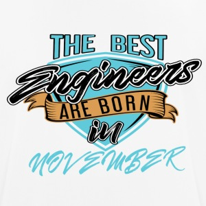 Best Engineers Born In NOVEMBER - Men's Breathable T-Shirt