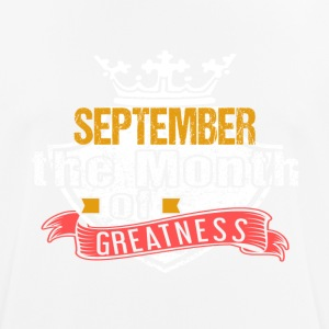 Month of Greatness SEPTEMBER - Men's Breathable T-Shirt