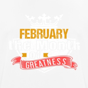 Month of Greatness FEBRUARY - Men's Breathable T-Shirt