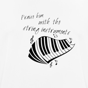 praise him the string instruments (piano) - T-shirt respirant Homme