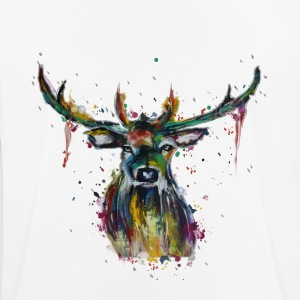 Colorful stag - Men's Breathable T-Shirt