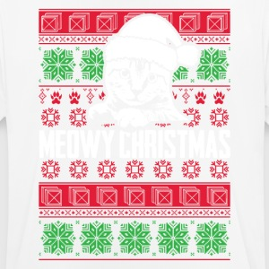 Meowy Christmas - Men's Breathable T-Shirt