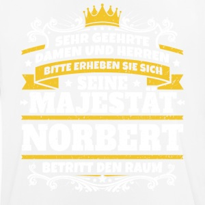 His Majesty Norbert - Men's Breathable T-Shirt