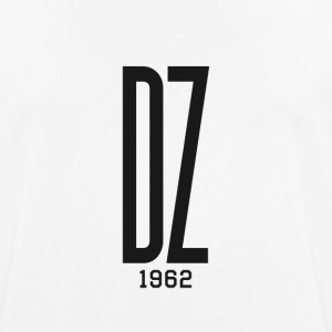 Logo transparent black DZ 1962 - Men's Breathable T-Shirt