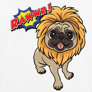 Pug | Mops Rawrr! - Men's Breathable T-Shirt