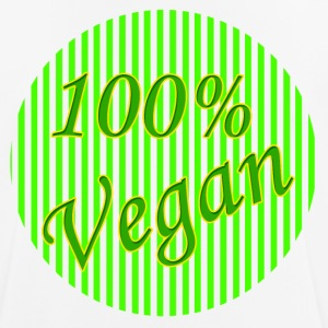 100% Vegan - Men's Breathable T-Shirt