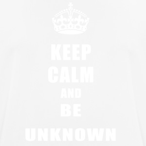 Unknown Rivals Keep Calm and be unknown - Men's Breathable T-Shirt