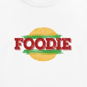 Foodie Fast Food Hamburger - Pustende T-skjorte for menn