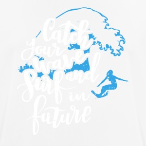 Surf into the future - Men's Breathable T-Shirt