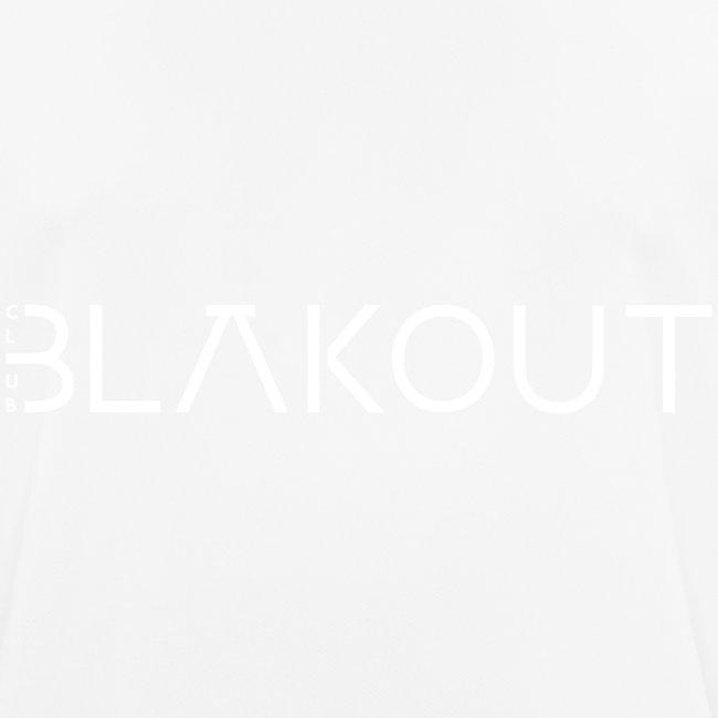 Bläkout -logo valkoinen
