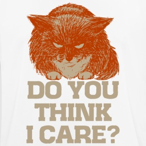 Ginger the cynic cat, do you think I care? t-shirt - Men's Breathable T-Shirt