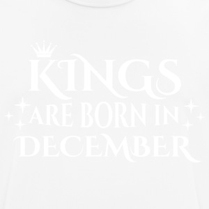 Kings are born in December - Men's Breathable T-Shirt