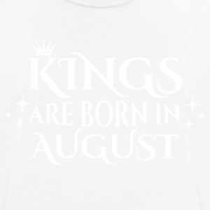 Kings are born in August - Men's Breathable T-Shirt