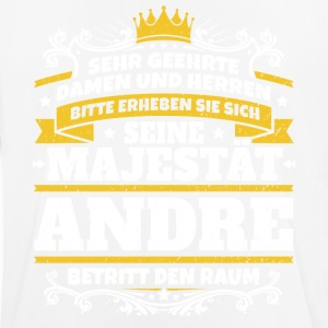 His Majesty Andre - Men's Breathable T-Shirt