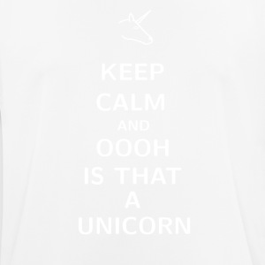 Keep Calm and ooh is that a Unicorn - Men's Breathable T-Shirt