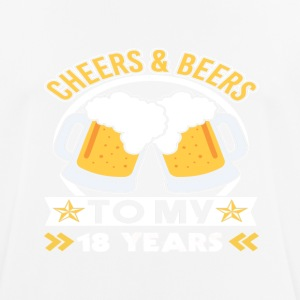 18th birthday beers - Men's Breathable T-Shirt