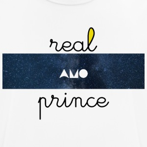 Real prince amo Galaxie - Men's Breathable T-Shirt