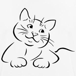 SWEET CAT COLLECTION - Herre T-shirt svedtransporterende
