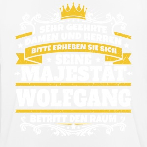 His Majesty Wolfgang - Herre T-shirt svedtransporterende