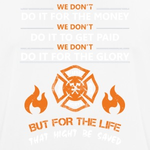 Lifeguard firefighter rescue service - Men's Breathable T-Shirt
