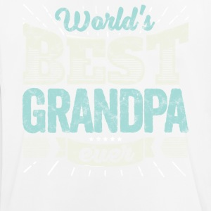 Familien Geschenk Shirt: World's best grandpa ever - Männer T-Shirt atmungsaktiv