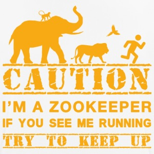 Zoo employee: beware! - Men's Breathable T-Shirt