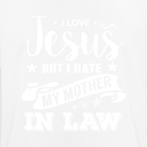 I Love Jesus but I Hate my Mother in Law - Männer T-Shirt atmungsaktiv
