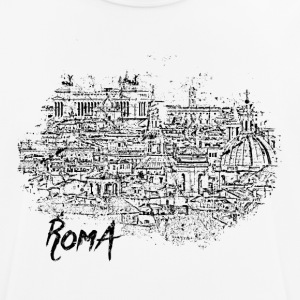 Roma / Rome motif with city sketch - Men's Breathable T-Shirt