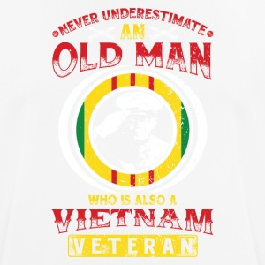 Vietnam veteran! Veterans! US Air Force! USA! - Andningsaktiv T-shirt herr