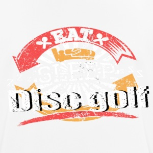 Eat Sleep Disc golf - Men's Breathable T-Shirt
