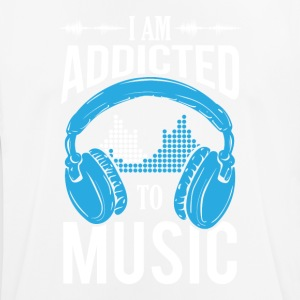 I Am Addicted To Music - Men's Breathable T-Shirt