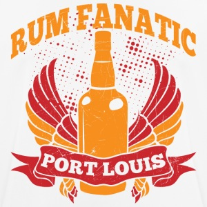 T-shirt Rum Fanatic - Port Louis, Mauritius - Men's Breathable T-Shirt