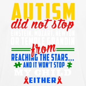 Autism does not stop - Men's Breathable T-Shirt