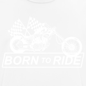 Born for motorcycling - Men's Breathable T-Shirt
