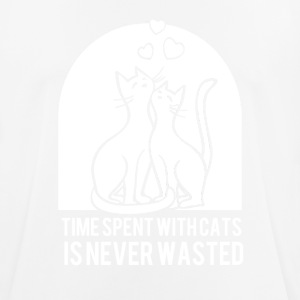 Time spend with cats is never bad! - Men's Breathable T-Shirt