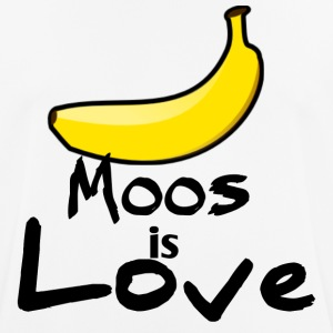 Moos is love - Men's Breathable T-Shirt