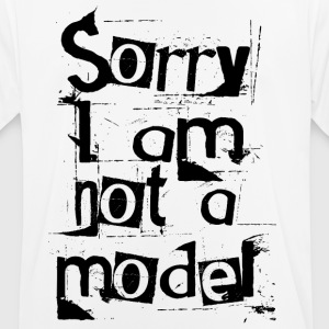 I'm not a model - Men's Breathable T-Shirt