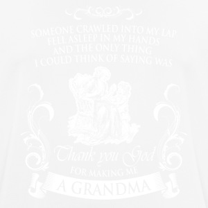 Shirt for grandmothers - Men's Breathable T-Shirt